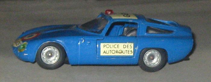 Solido n° 221 - Alfa Roméo Giulia TZ Police Pl44610