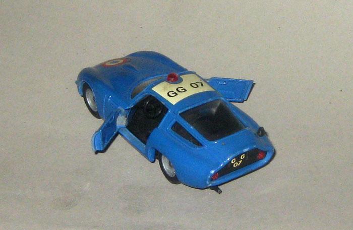 Solido n° 221 - Alfa Roméo Giulia TZ Police Pl44710