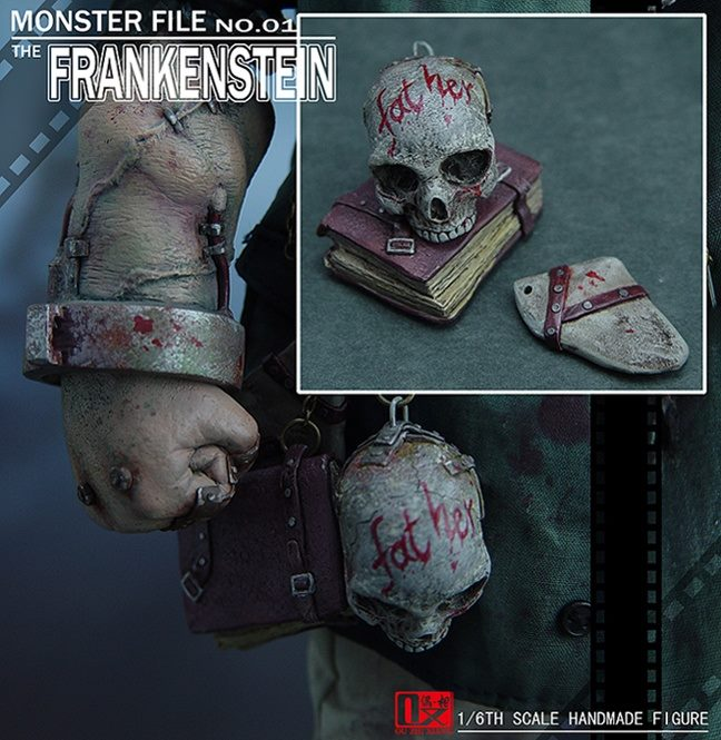 1/6th DX SHF ( Zhi Xiang ) - Monster file no.01 The Frankenstein 10391011