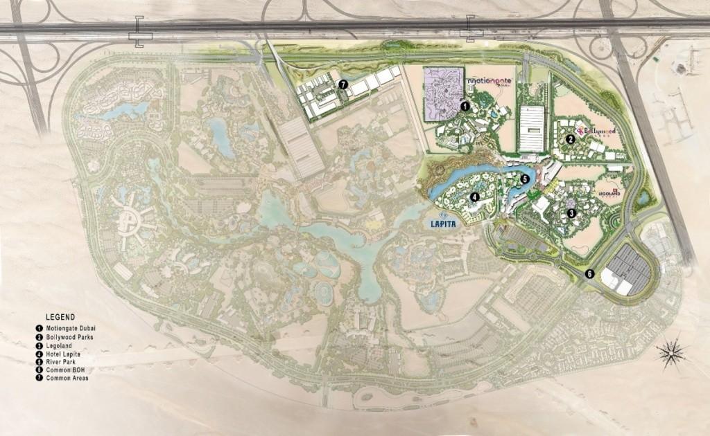 [ÉAU] Dubai Parks & Resorts : motiongate, Bollywood Parks, Legoland (2016) et Six Flags (2019) Dubaip13