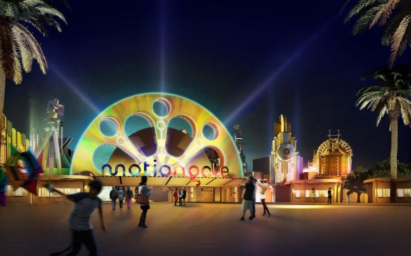 [ÉAU] Dubai Parks & Resorts : motiongate, Bollywood Parks, Legoland (2016) et Six Flags (2019) Motion14
