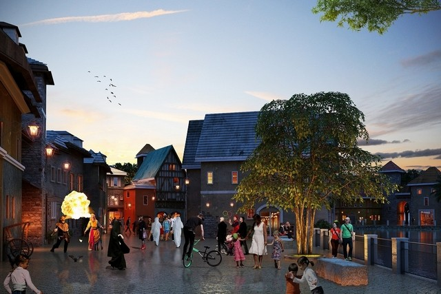 [ÉAU] Dubai Parks & Resorts : motiongate, Bollywood Parks, Legoland (2016) et Six Flags (2019) Riverp11