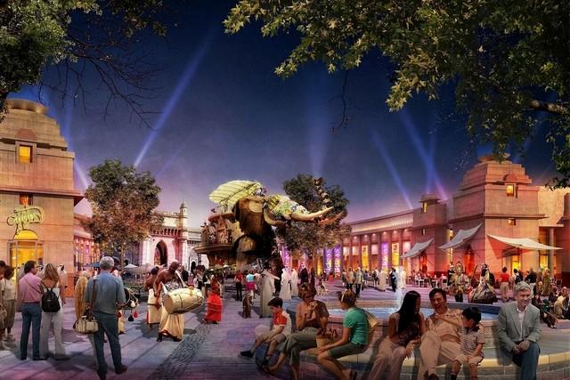 [ÉAU] Dubai Parks & Resorts : motiongate, Bollywood Parks, Legoland (2016) et Six Flags (2019) Riverp13