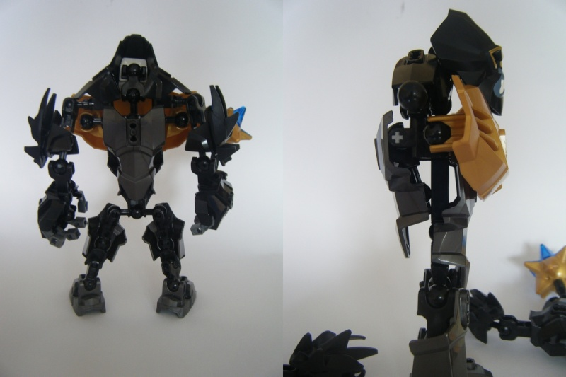 [MOC] Modifications des Figurines Chima Solok10