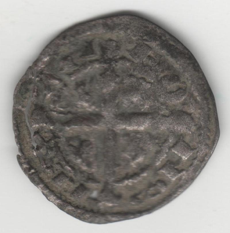 Dinero de Alfonso IX (1188-1230) de León [estrella de 5 puntas bajo cruz] 41_110