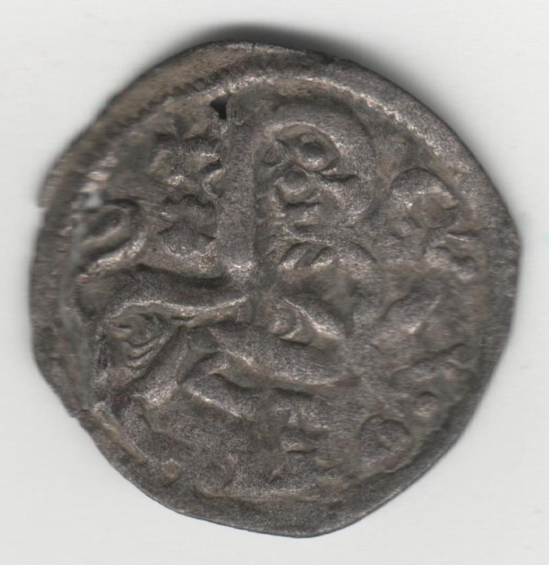 Dinero de Alfonso IX (1188-1230) de León [estrella de 5 puntas bajo cruz] 41_210