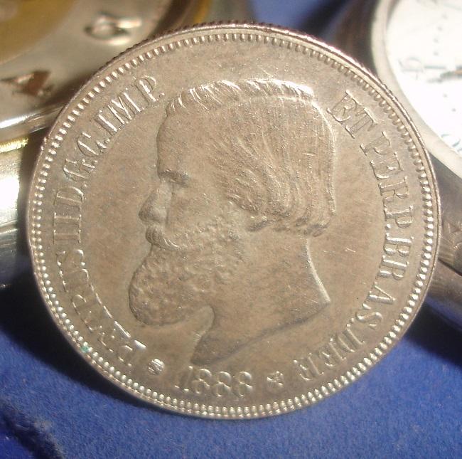 500 Reis. Brasil. 1888. Rio de Janeiro Dsc08013