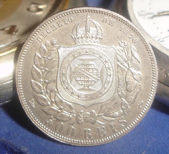 500 Reis. Brasil. 1888. Rio de Janeiro Dsc08014