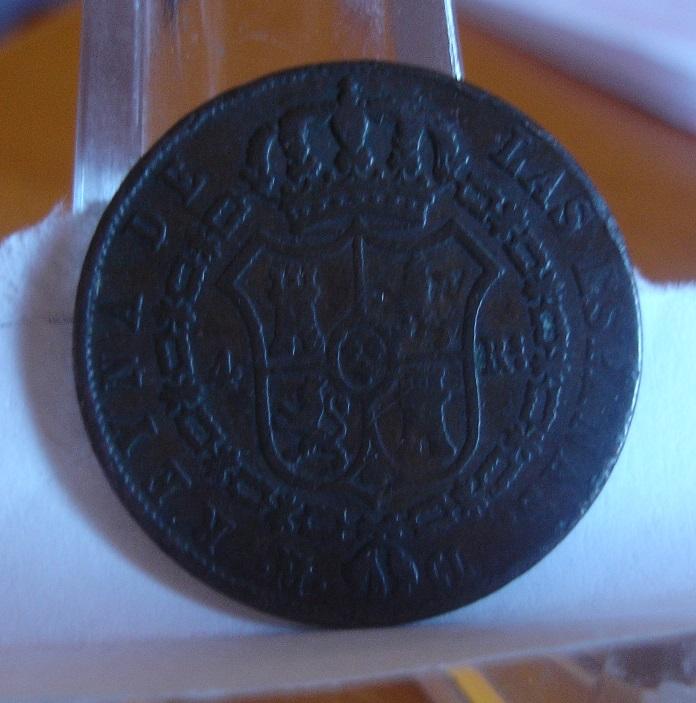 4 Reales. Isabel II. 1848. Madrid, en cobre?? Dsc08713