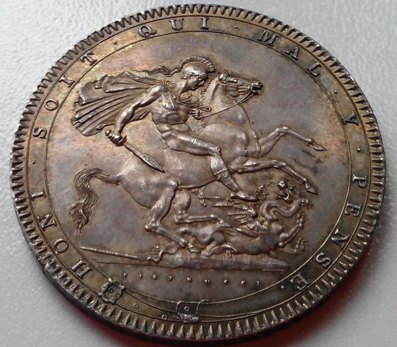 1 corona (crown) 1820  Georgius III   - Dedicada a mi amigo Emiliano Imag1211