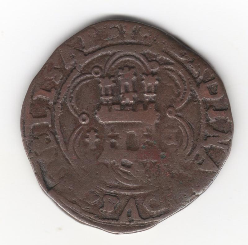 4 Maravedís a nombre de los Reyes Catolicos. Cuenca Img99010