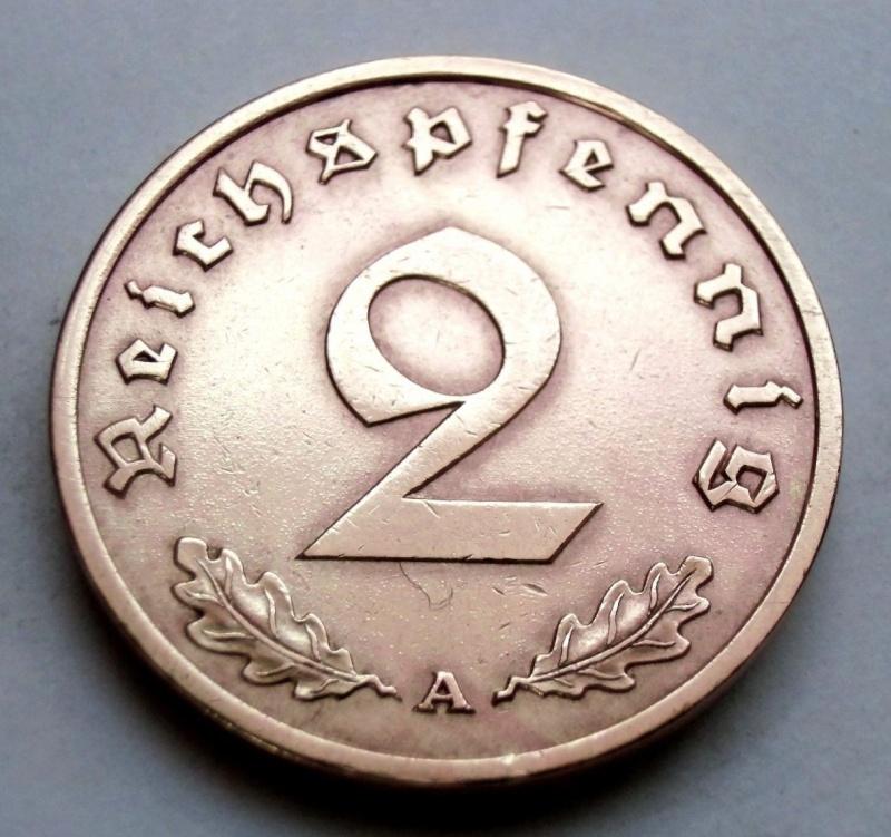 Alemania - 2 REICHSPFENNIG 1937 A Jqvid10