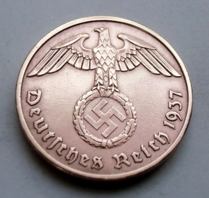 Alemania - 2 REICHSPFENNIG 1937 A Xlmht10