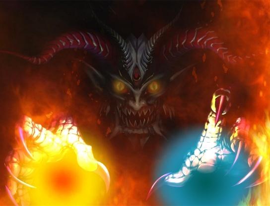 """écran titre """"devil"""" améliorer =) Devilt10"""
