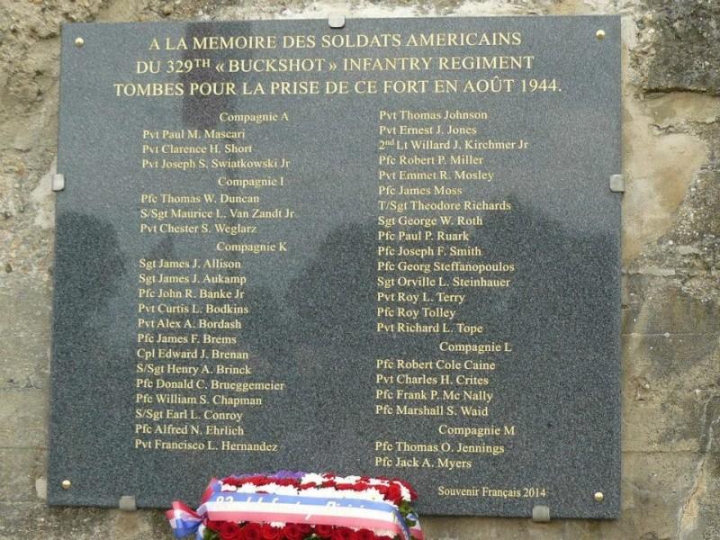 Expo Saint Malo dimanche 17/08: la 329th Buckshot/résistance 3610