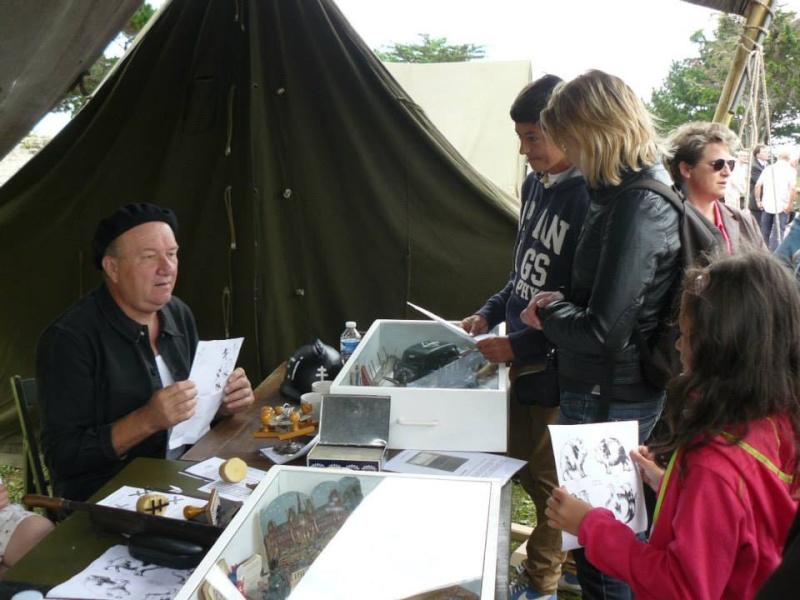 Expo Saint Malo dimanche 17/08: la 329th Buckshot/résistance 4410