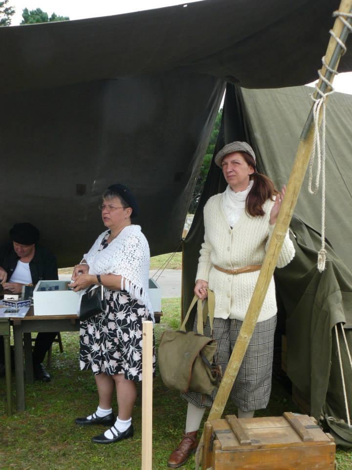 Expo Saint Malo dimanche 17/08: la 329th Buckshot/résistance 810
