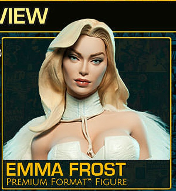 "EMMA FROST "" HELLFIRE CLUB"" Premium format Tm_com10"