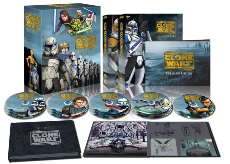 STAR WARS THE CLONE WARS - NEWS - NOUVELLE SAISON - DVD [3] - Page 3 Inegra10