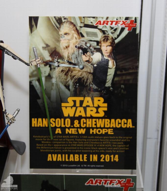 Kotobukiya - Han Solo & Chewbacca - ARTFX+ Statues 2 packs Koto_s10
