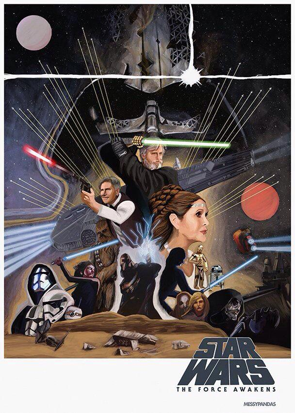 7 - Les posters de Star Wars The Force Awakens - Page 5 Poster10