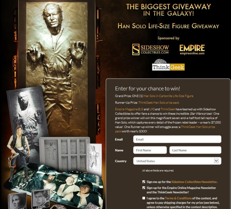 Sideshow - Han solo in Carbonite - Life Size Figure - Page 3 Solo10