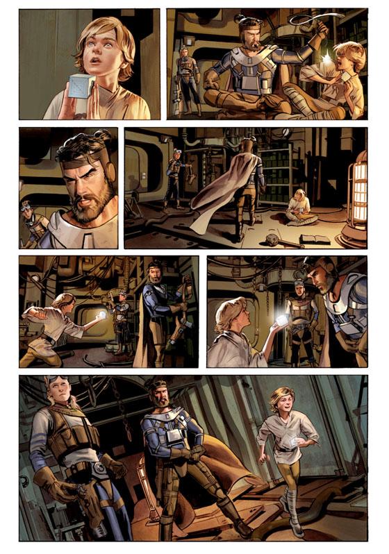 THE STAR WARS - Comics Dark Horse Tsw0210