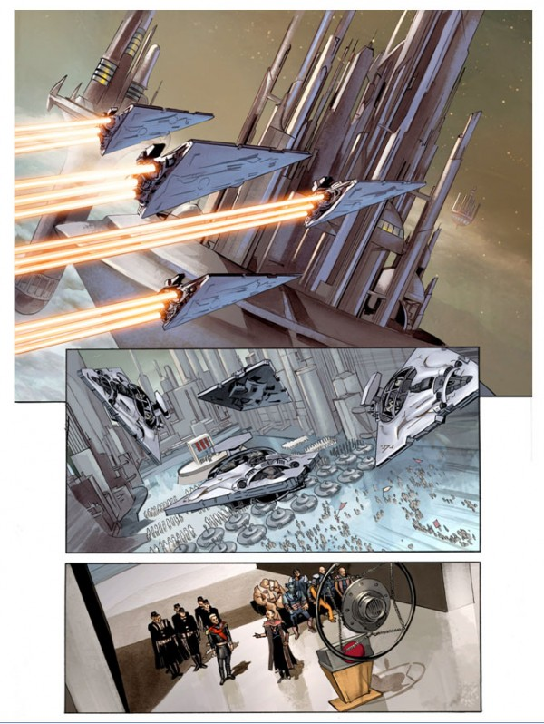 THE STAR WARS - Comics Dark Horse Tsw0310