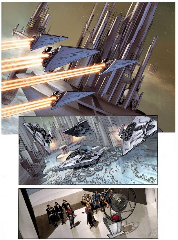 THE STAR WARS - Comics Dark Horse Tsw1010