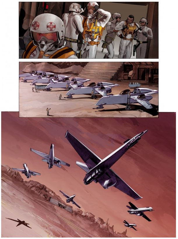 THE STAR WARS - Comics Dark Horse Tsw1110