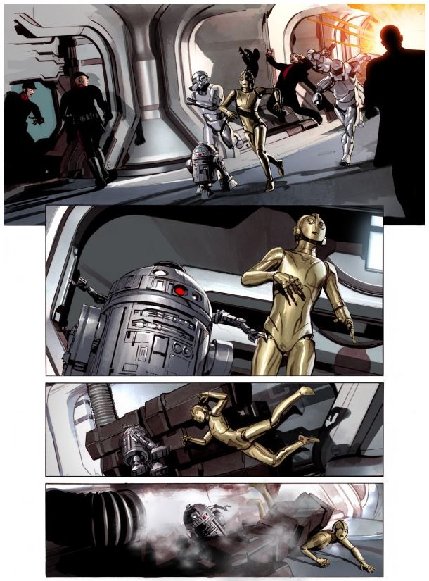 THE STAR WARS - Comics Dark Horse Tsw1210