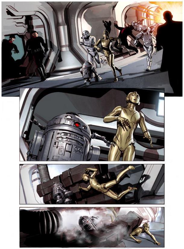 THE STAR WARS - Comics Dark Horse Tsw1210
