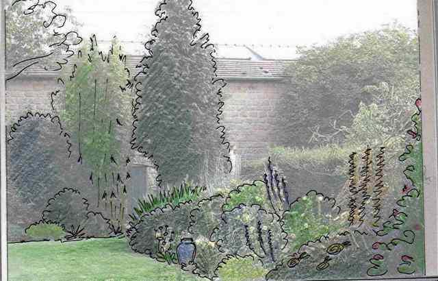 41 - Le jardin vu d'une fenêtre... photos reçues - Page 2 Vue_pa10