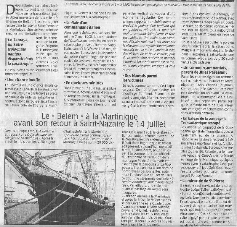 [Histoire et histoires] Le BELEM miraculé de la Montagne Pelé Belem_11