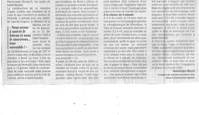 19 Juin 1940, St Nazaire, le JEAN BART s'évade !.. - Page 2 Jean_b15