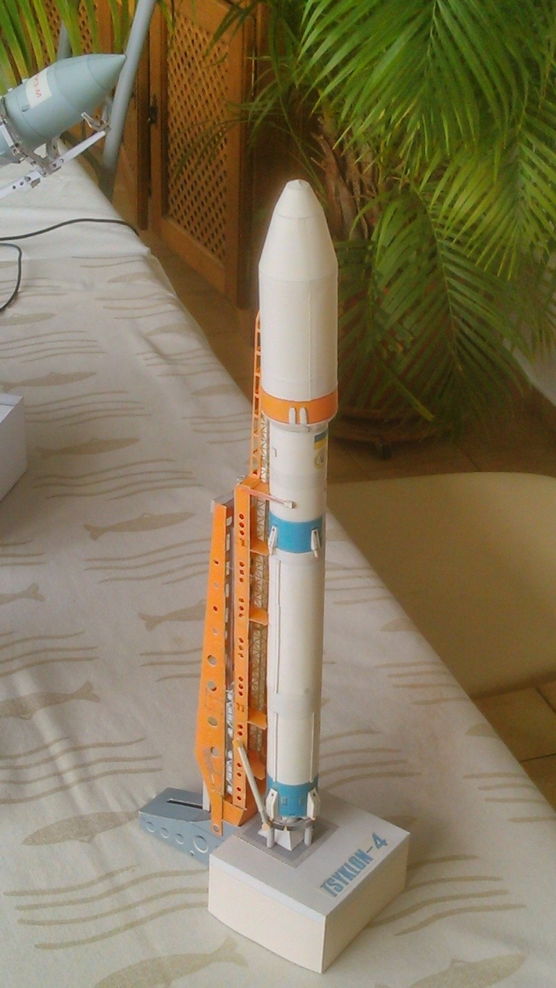Engins spaciaux, Fusées diverses Tsiklo11