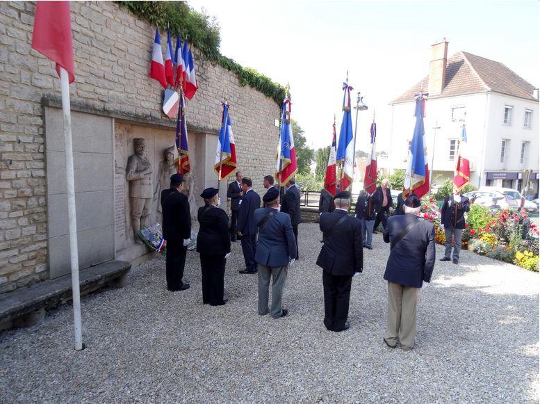Section Cote d'Or ,libération de Chatillon sur Seine Journe17