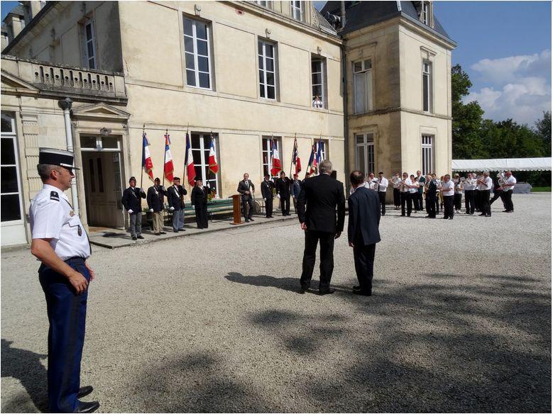 Section Cote d'Or ,libération de Chatillon sur Seine Journe19