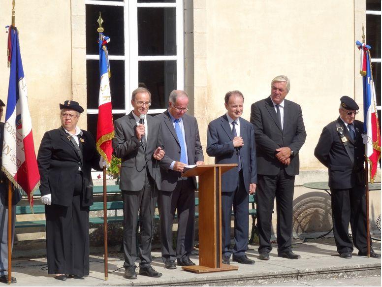 Section Cote d'Or ,libération de Chatillon sur Seine Journe20
