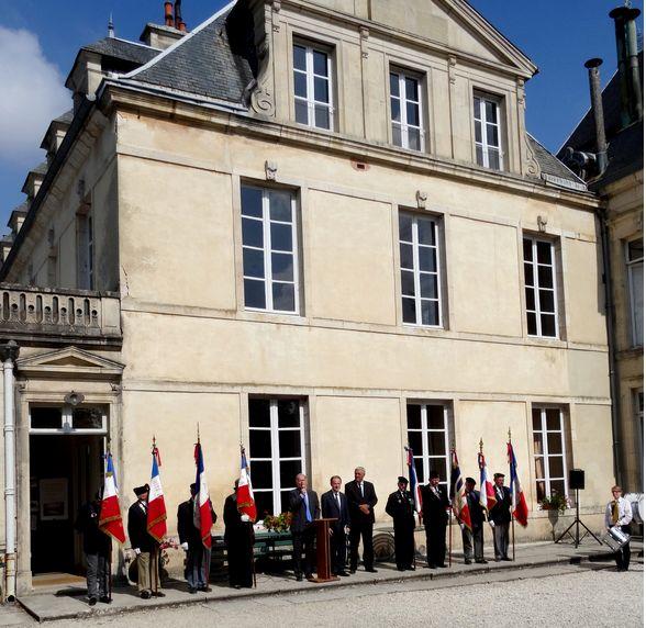 Section Cote d'Or ,libération de Chatillon sur Seine Journe21