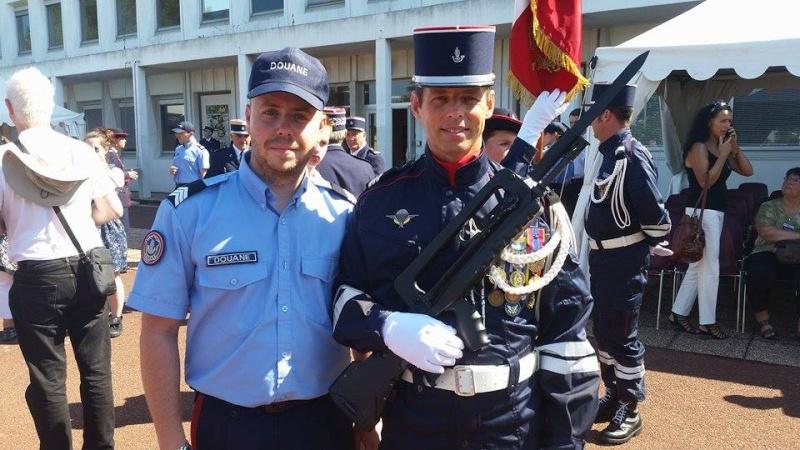 Cérémonie de fin de promotion à l'Ecole Nationale des brigades des Douanes à LA ROCHELLE Receiv10