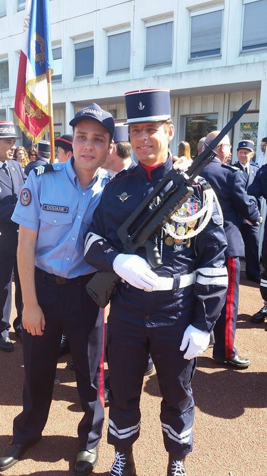 Cérémonie de fin de promotion à l'Ecole Nationale des brigades des Douanes à LA ROCHELLE Receiv11