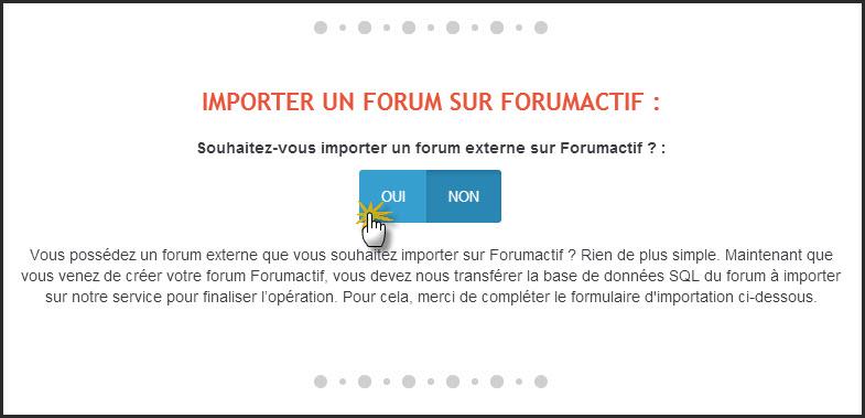 Importer votre forum sur Forumactif 24-06-17