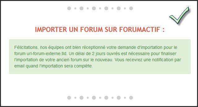 Importer votre forum sur Forumactif 26-06-13