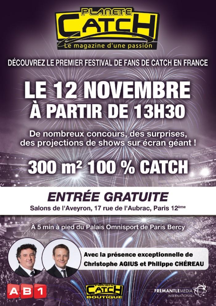 Fan Fest Planete Catch 12 novembre 2014 à Paris Flyer_10