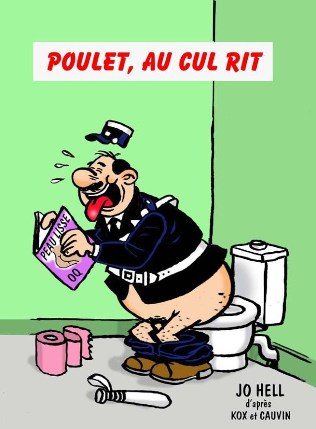 Humour en image du Forum Passion-Harley  ... Poulet10
