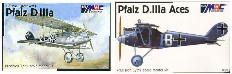 Montage: deux Pfalz D-III / D-IIIa et demi,  1/72 _boxar11