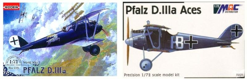 Deux Pfalz D-III / D-IIIa et demi,  1/72 _boxar14
