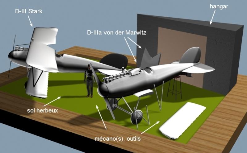 Deux Pfalz D-III / D-IIIa et demi,  1/72 _doc_d17