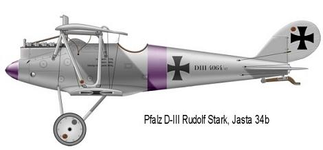 Deux Pfalz D-III / D-IIIa et demi,  1/72 _doc_p30